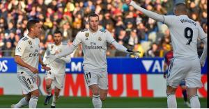فوز ريال مدريد على متذيل الدوري الإسباني