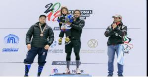 الأردني سهيل عزام يحرز لقب بطولة التزلج على الجليد في الإمارات