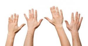 شكل أصابع الشريك دليل على خيانته