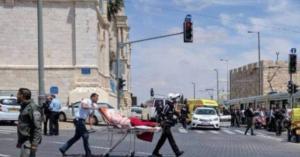 """إصابة """"إسرائيليين"""" بعملية طعن في القدس"""