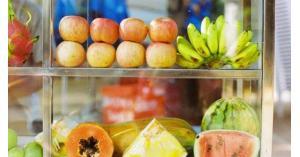 ملصقات ثورية تمنع فساد الفاكهة والخضار