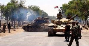الجيش السوري يرفع علمه في منطقة منبج