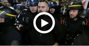 """شاهد لحظة القبض على  أحد قادة """"السترات صفراء"""".. فيديو"""