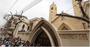 انفجار قرب كنيسة في مصر