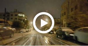 شاهد المناطق التي شهدت تساقط للثلوج في المملكة.. فيديو