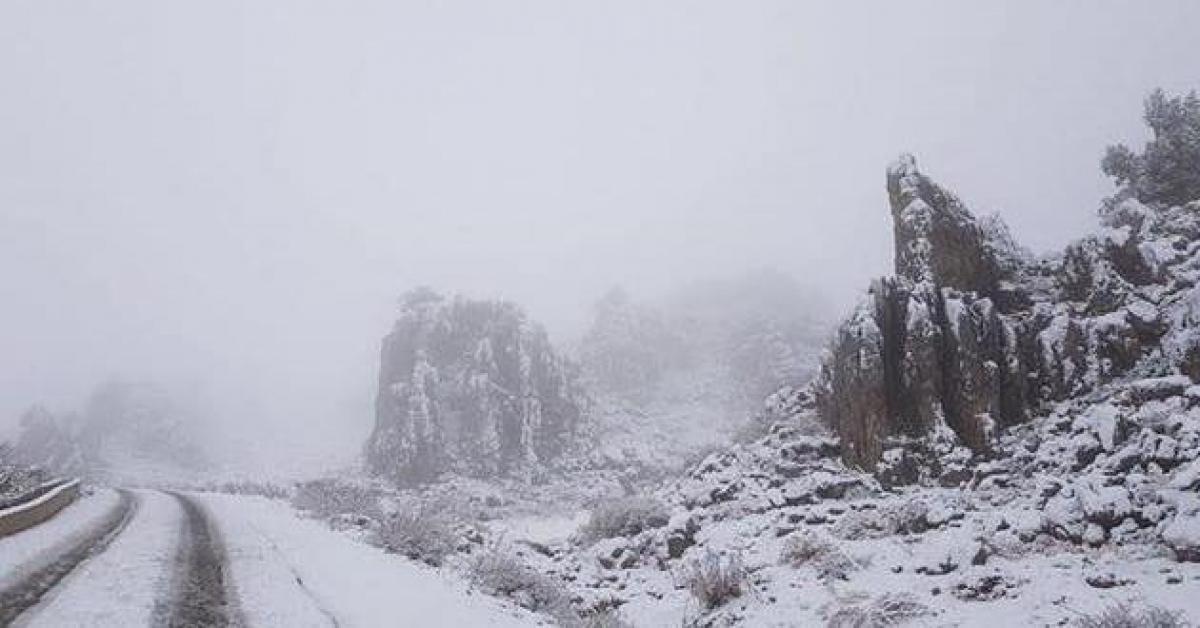 """عاصفة """"نوراما"""" الثلجية بطريقها الى الاردن.. فيديو"""