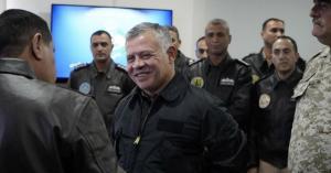 الملك في قاعدة الملك عبدالله الثاني الجوية.. صور