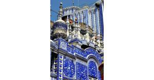 مسجد قديم كتب القرآن كله على جدرانه..فيديو