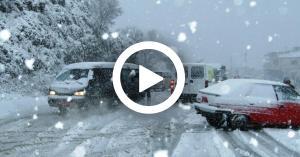 """""""نورما"""" الثلجية تضرب بلاد الشام بكامل قوتها.. فيديو"""