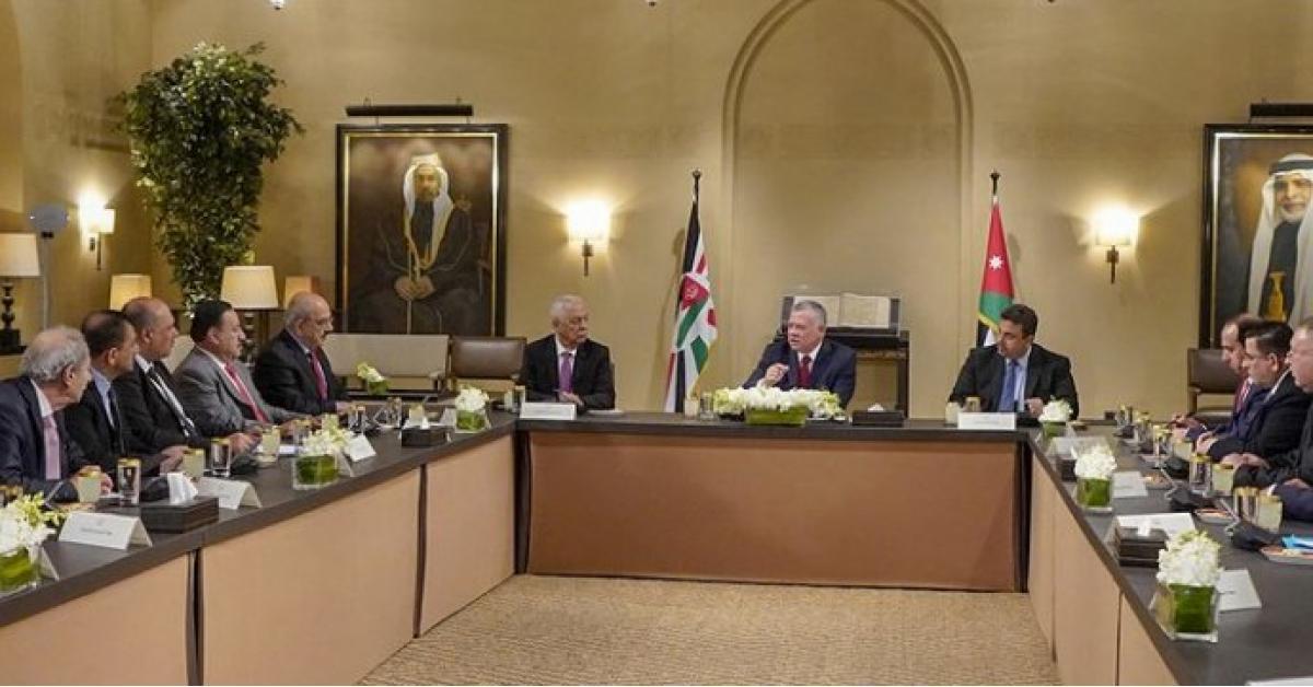 الملك يلتقي كتلة مبادرة النيابية