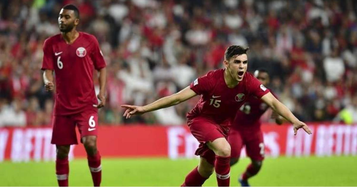 المنتخب القطري يهزم نظيره اللبناني في كأس آسيا 2019