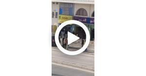 مشهد تمثيلي لعامل الوطن الذي استضافه الملك.. فيديو