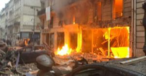 انفجار ضخم يهز وسط باريس