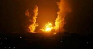 شاهد لحظة قصف إسرائيل للأراضي السورية.. فيديو