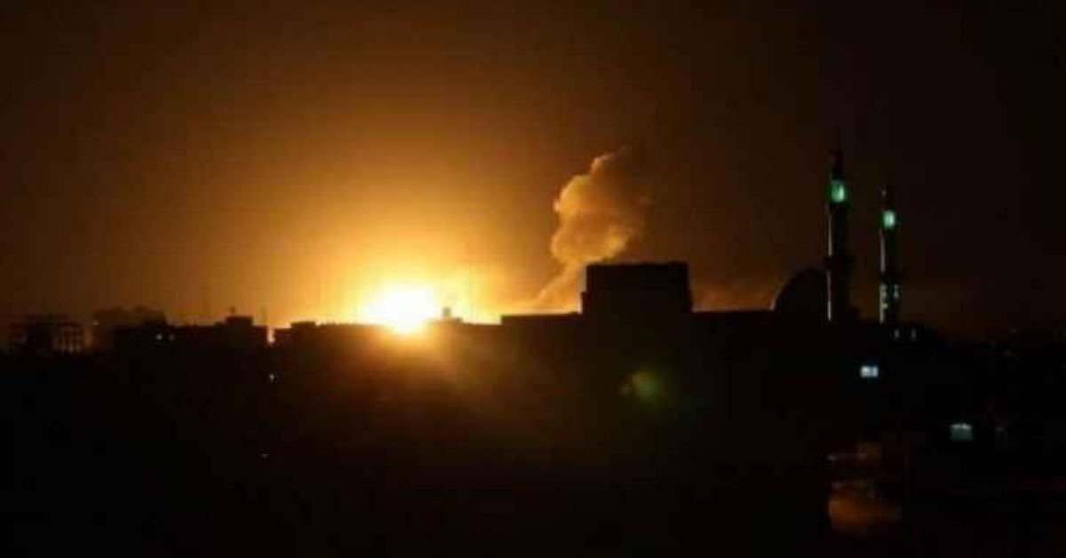 طائرات الاحتلال تقصف غزة