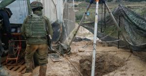 """اسرائيل تعلن اكتشاف النفق الاخير لـ""""حزب الله"""""""