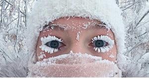 قرية في روسيا تسجل اعلى درجة برودة