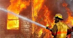 حريق داخل إدارة سير غرب عمان