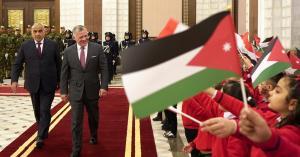 هكذا احتفل العراق بزيارة جلالة الملك.. فيديو