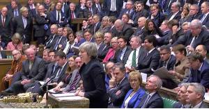 """البرلمان البريطاني يرفض اتفاق """"بريكست"""""""