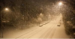 اسماء المناطق التي ستشهد تساقط للثلوج الليلة