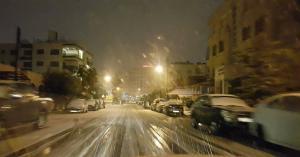 انقاذ (101) شخص علقو في الطرقات بسبب الثلوج