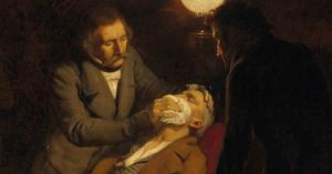اول طبيب استخدم التخدير العام في الجراحة