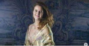 عقد قران الأميرة فوزية إبنة آخر ملوك مصر.. صور