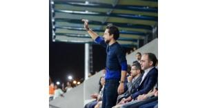 ولي العهد يصل دبي لدعم النشامى.. فيديو