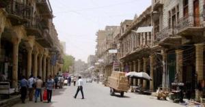 إعادة افتتاح شارع الرشيد أقدم شوارع بغداد