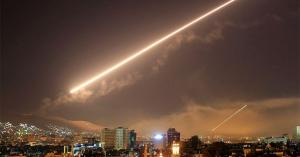 الدفاعات الجوية السورية تتصدى للقصف الإسرائيلي