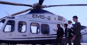 إسعاف مواطن أردني بطيارة