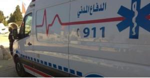 تدهور وإصابات لحافلة في الجويدة.. صور