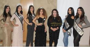 فاتن حمد وحنين العمري ملكتا جمال فلسطين والأردن 2019