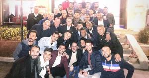 نجوم النشامى في حضرة الأمير علي.. صور