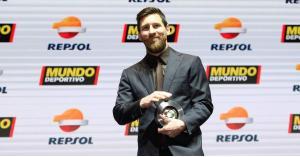 ميسي يتوج بجائزة أفضل لاعب في ليجا بموسم 2017/2018