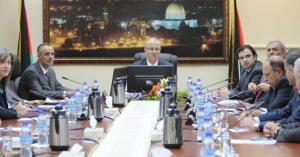 استقالة الحكومة الفلسطينية