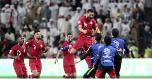 قطر تفوز على الامارات برباعية نظيفة