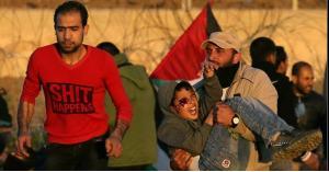حكاية طفل أصيب في اشتباكات غزة