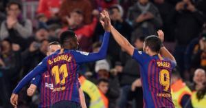 قمة نارية تجمع برشلونا واشبيلية في كأس ملك اسبانيا