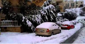 توقعات الثلوج في الاردن 2019