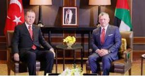 الملك والرئيس التركي يتفقان على توسيع التعاون بين البلدين
