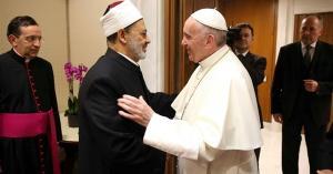 لأول مرة.. البابا وشيخ الأزهر يقيمان فى بيت واحد