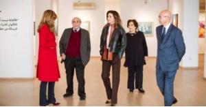 الملكة في المتحف الوطني الأردني (صور)