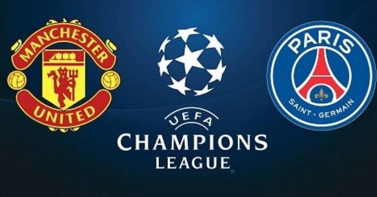 مانشستر يونايتد ضد باريس سان جيرمان فى دوري أبطال أوروبا