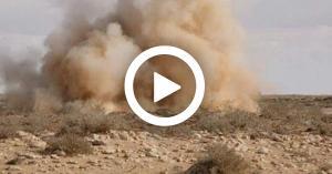 استشهاد رجال امن واصابة آخرين في انفجار لغم بالسلط.. صور وفيديو