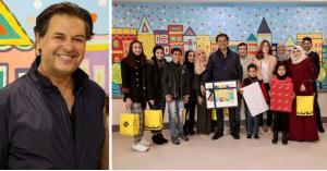 """""""علامة"""" يزور أطفال مرضى الحسين للسرطان"""