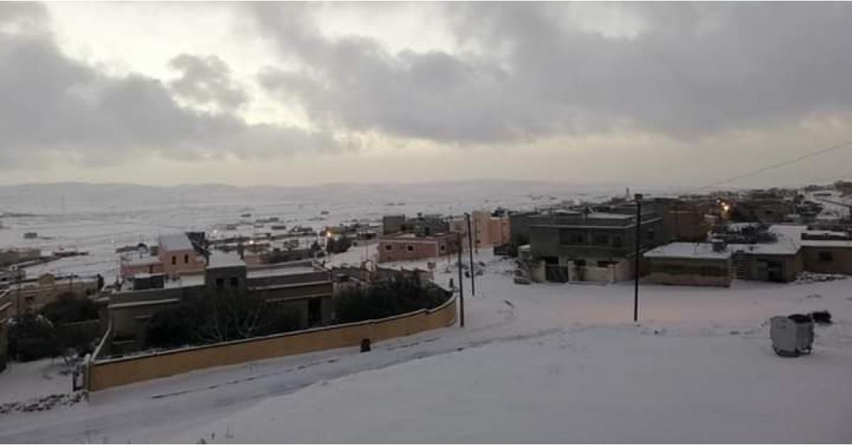 تعليق الدوام في هذه المناطق بسبب الثلوج