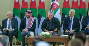لقطات من زيارة الملك لمحافظة الطفيلة (صور وفيديو)