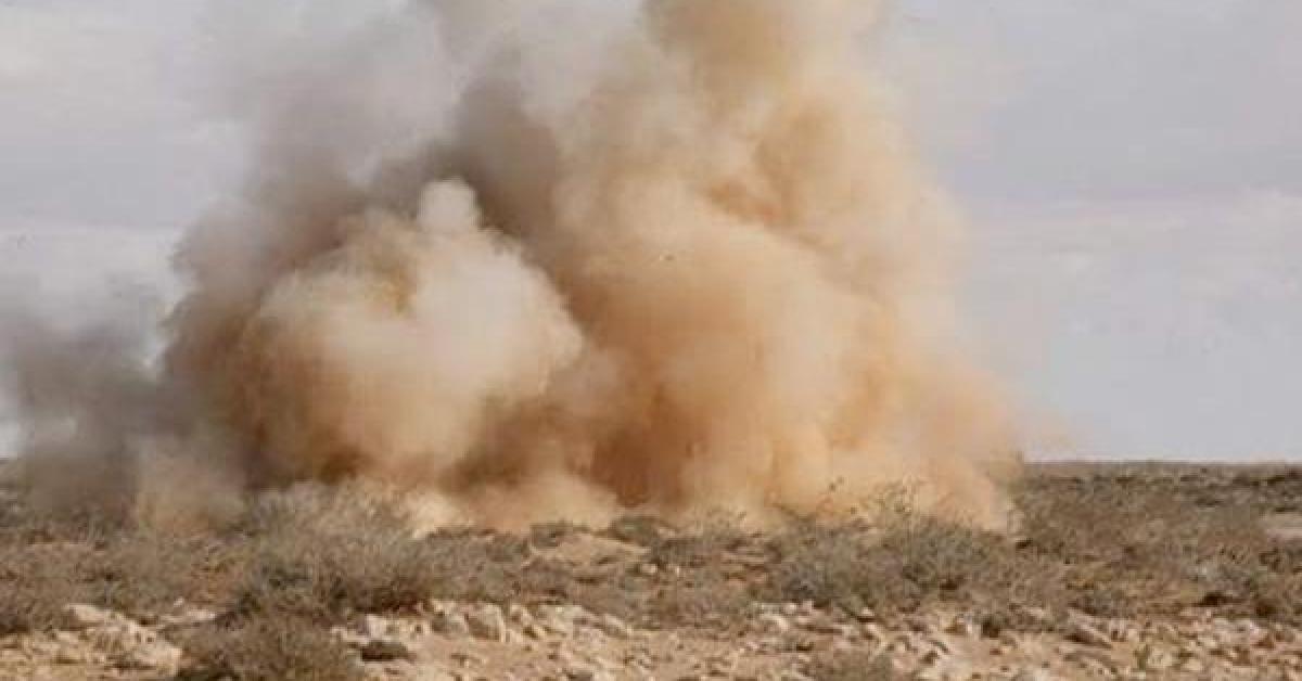 استشهاد الرائد سعيد الذيب متأثرا بانفجار اللغم في السلط